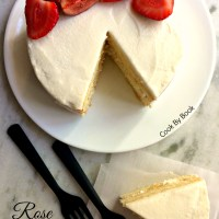 2-Layer Rose Coconut Cake