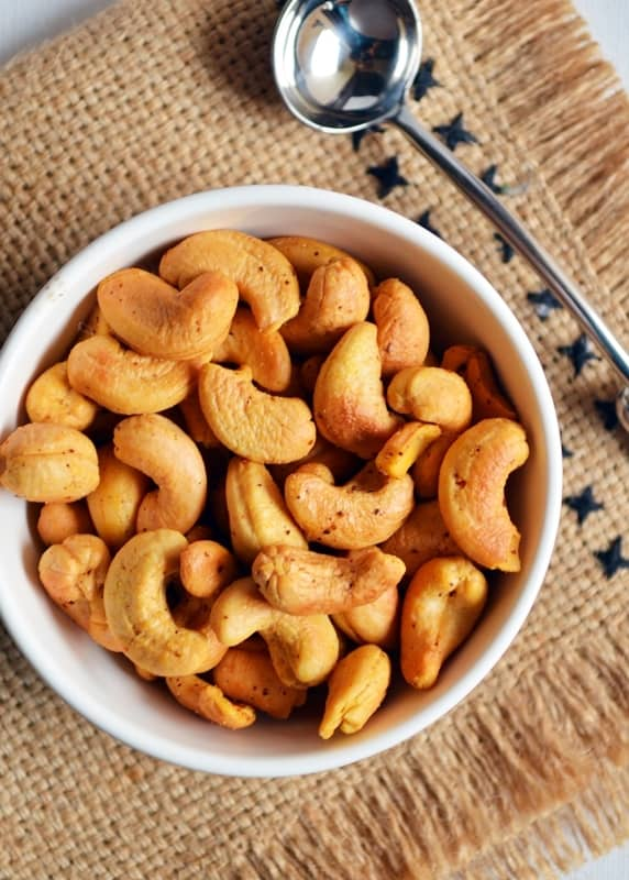 Roasted Cashew Nuts Easy Oven roasted cashews Cook