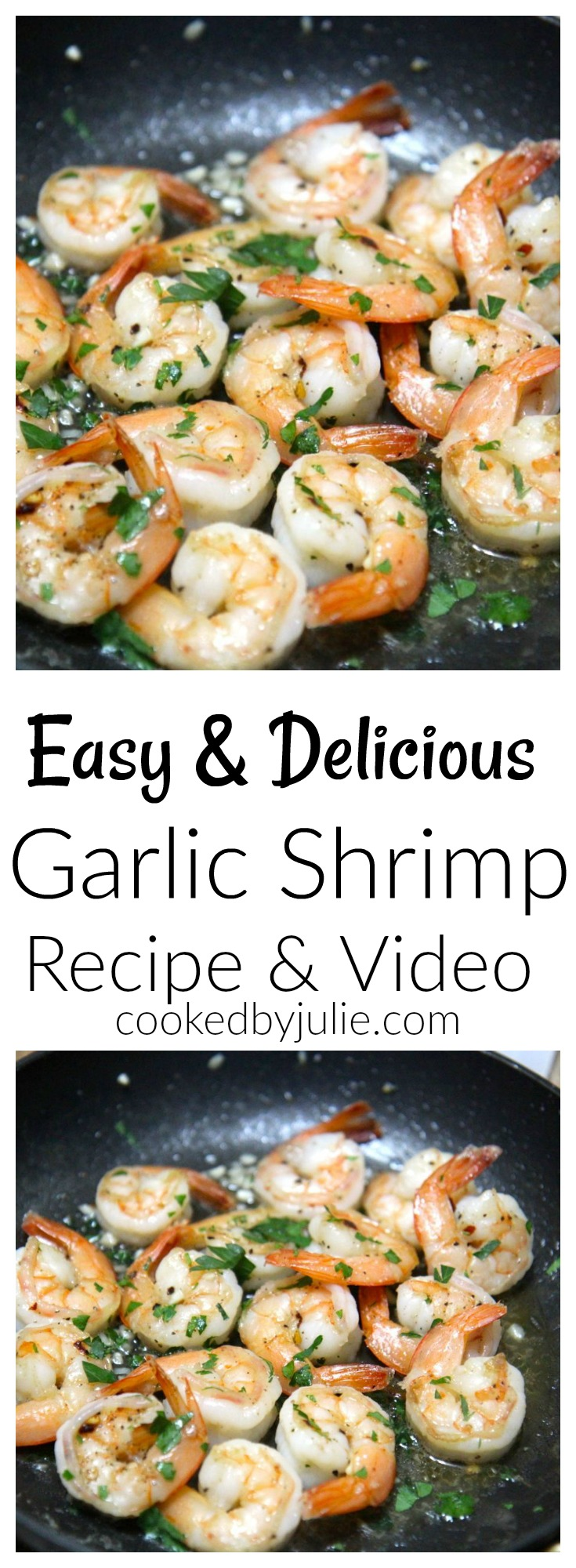 Easy & Delicious Grilled Shrimp | Recipe and Video from Cooked by Julie
