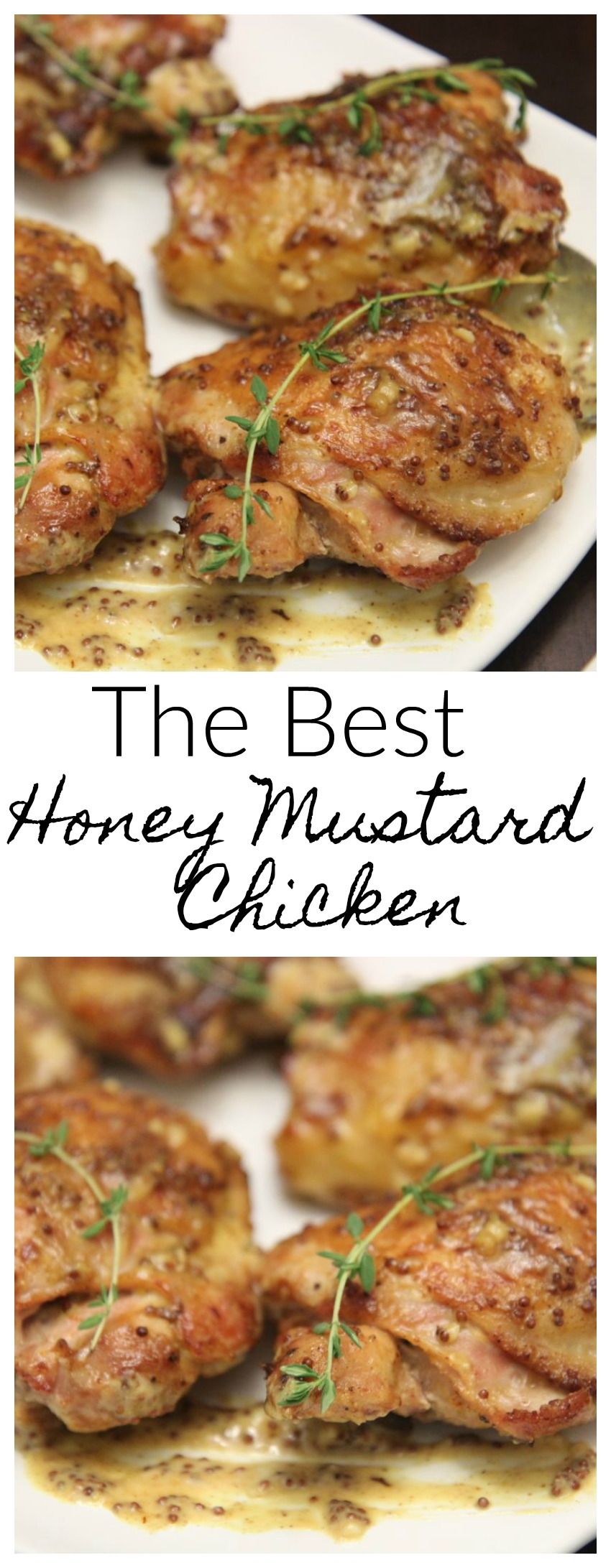 The Best Honey Mustard Chicken Recipe by Cooked By Julie