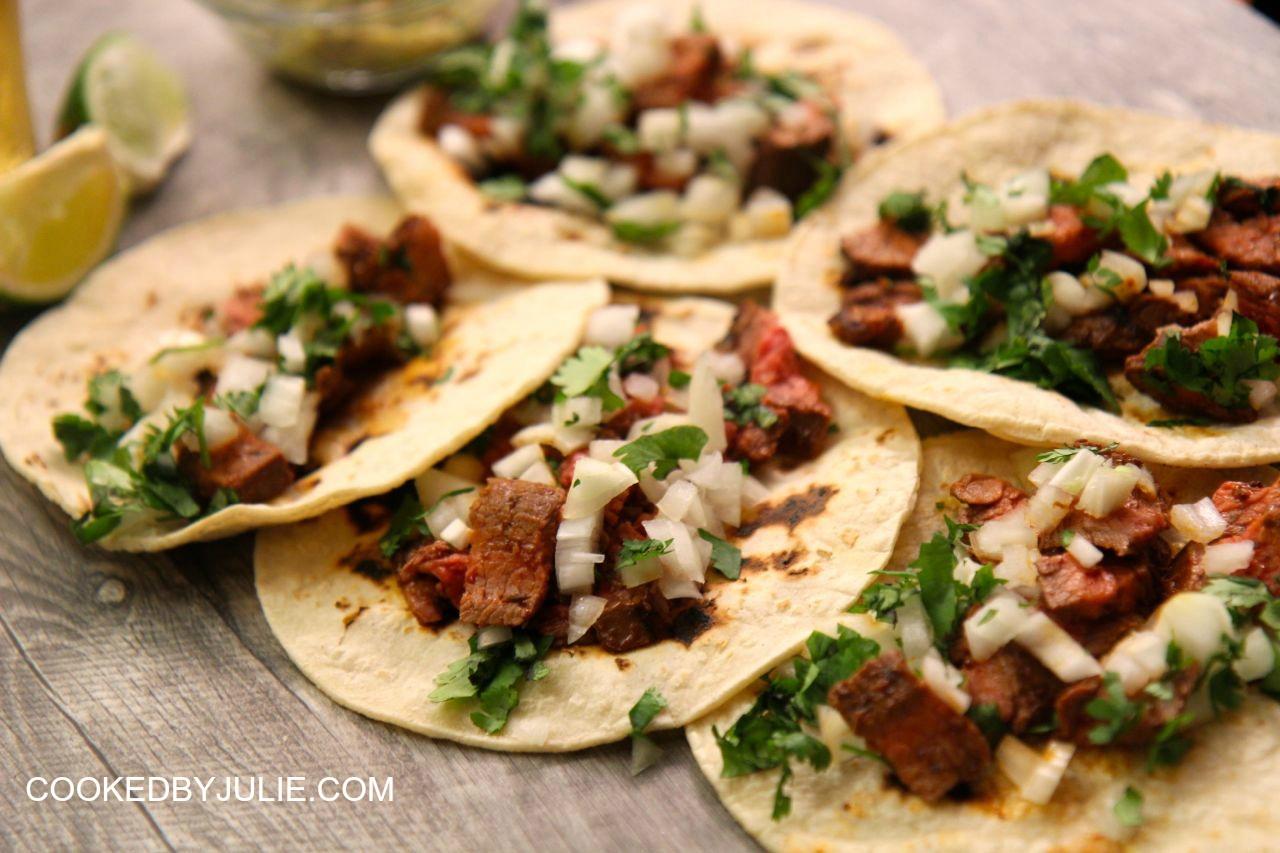 Carne Asada Tacos | Cooked by Julie