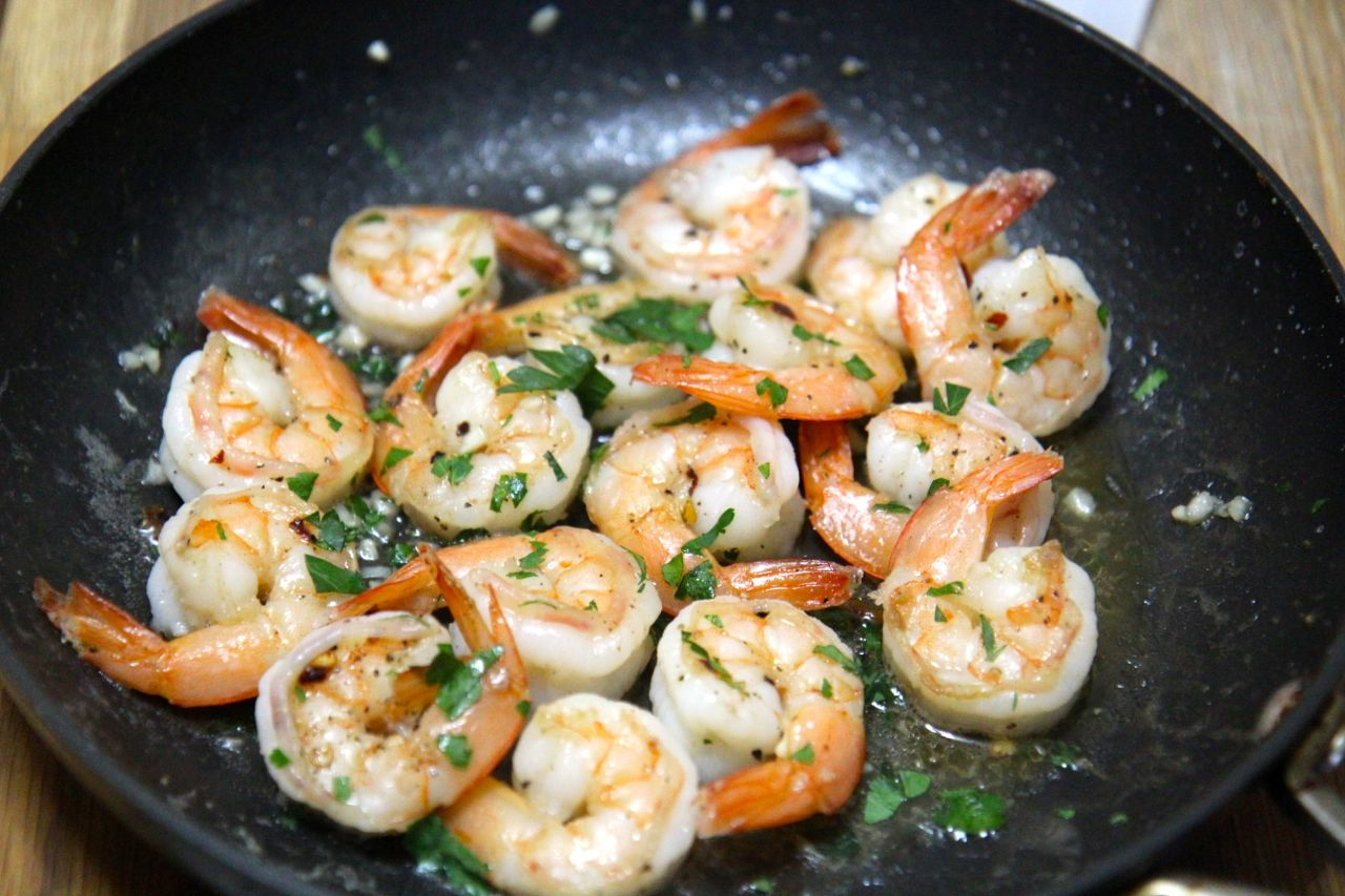 This easy grilled shrimp recipe only have a few simple ingredients for a delicious dinner