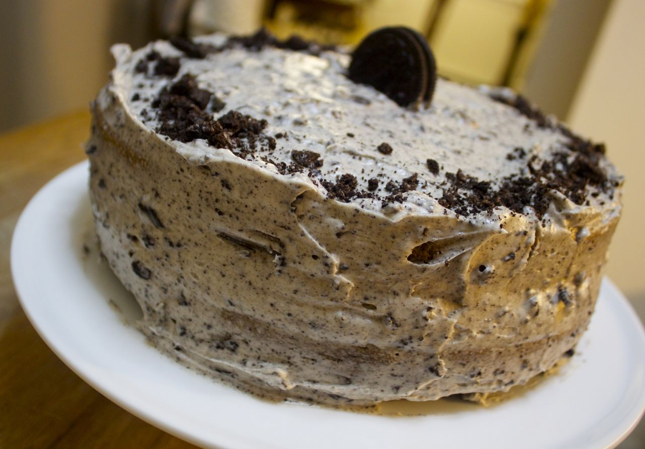 Oreo Cake made from scratch