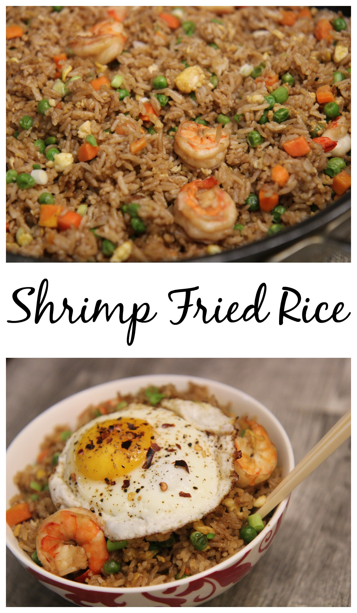 Shrimp Fried Rice | Cooked by Julie