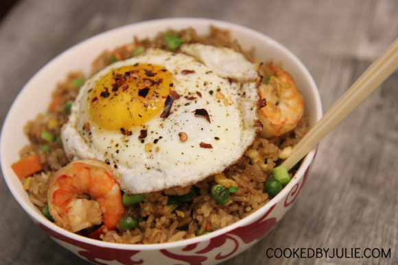 Better-than-takeout Shrimp Fried rice recipe