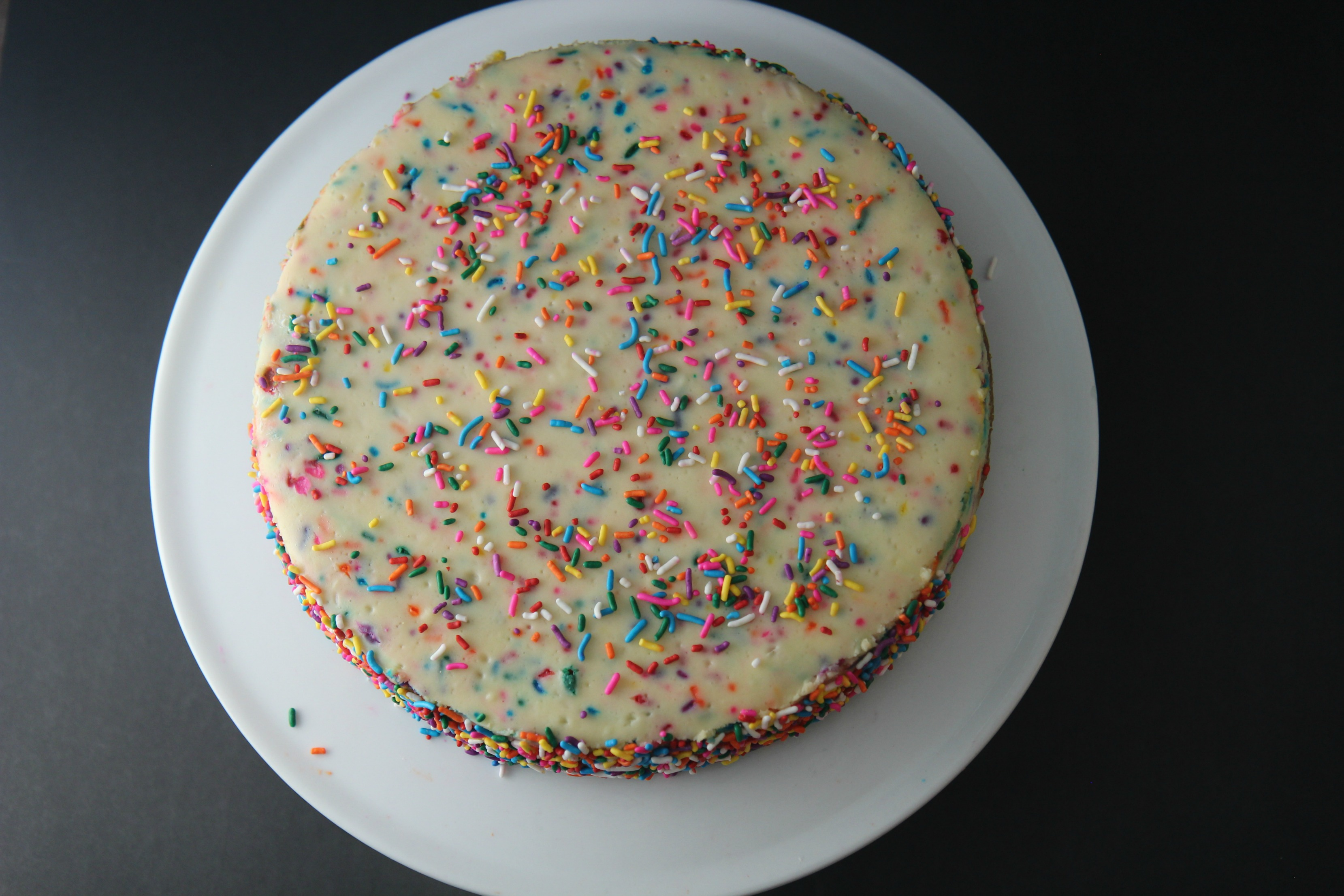 Funfetti cheesecake from Cooked by Julie