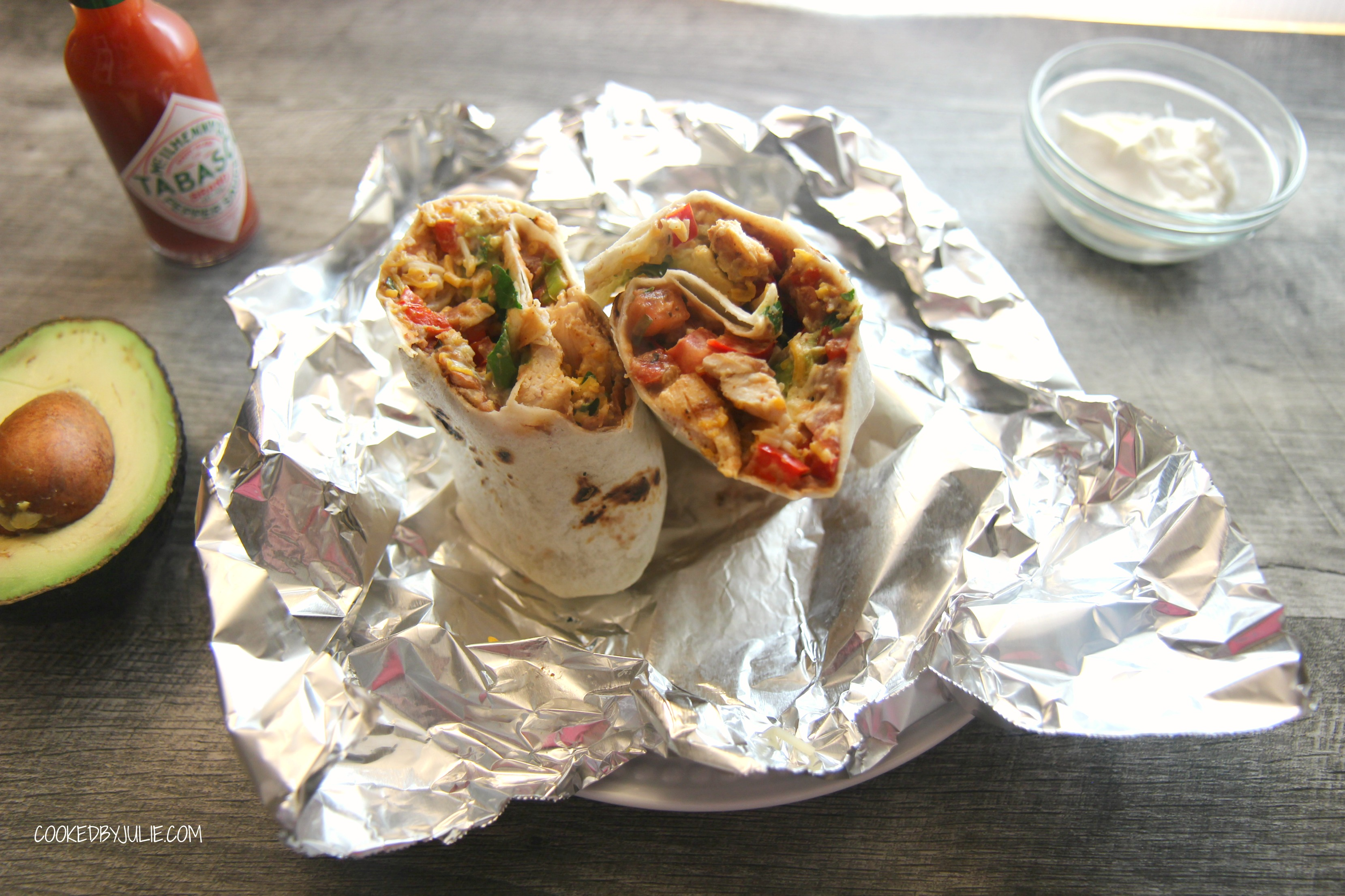 Wrap in foil and pack for a delicious homemade lunch.