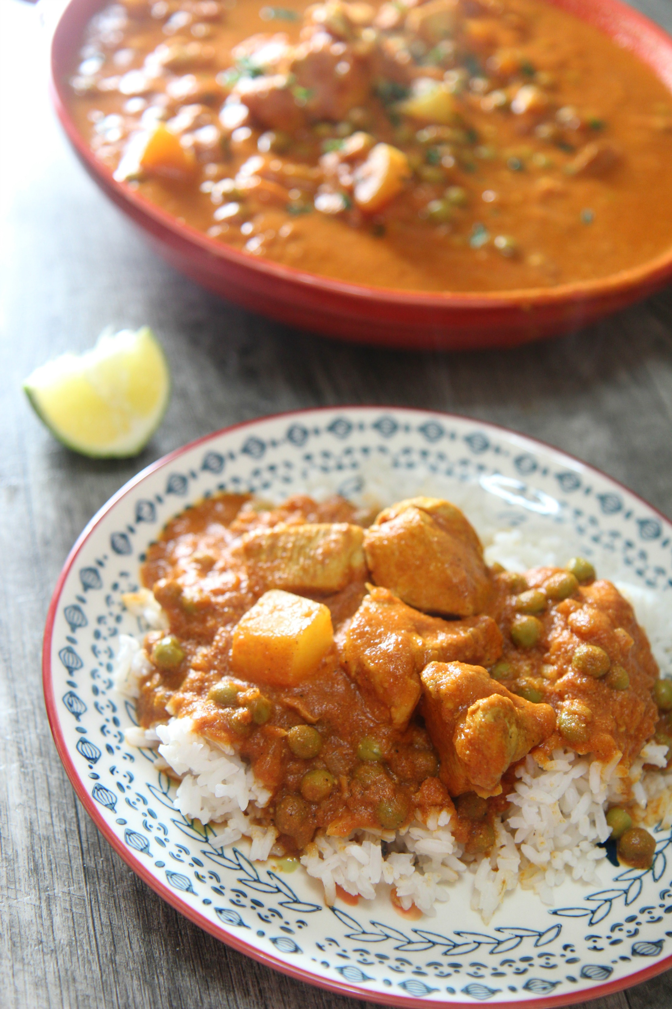 Rich, sweet and only slightly spicy, this curry is a crowd pleaser.