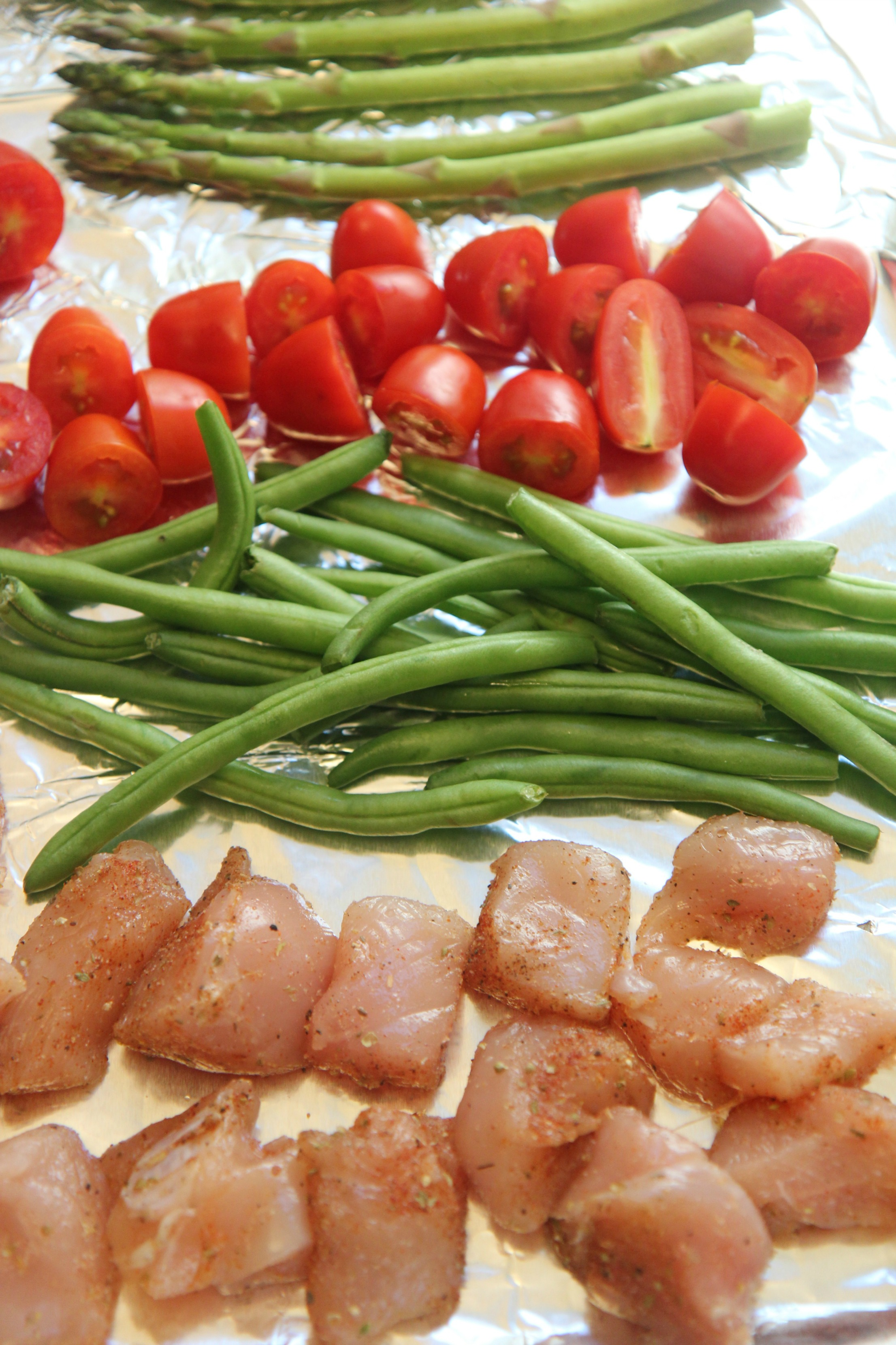 This easy one-pan chicken and veggies recipe is a dinner lifesaver.