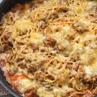 Taco Style Spaghetti
