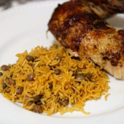 Arroz con Gandules – Rice & Pigeon Peas