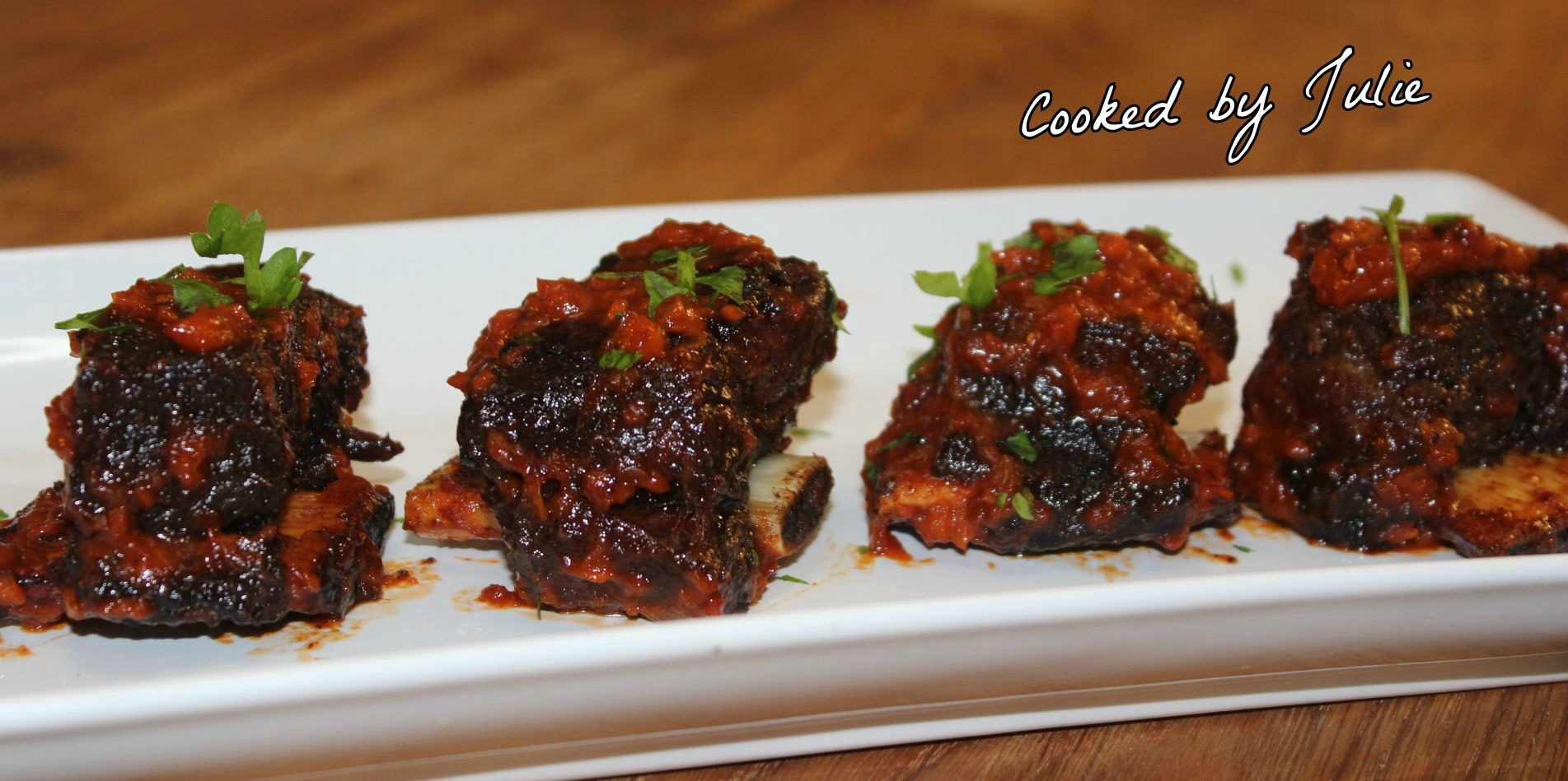 Sweet Chipotle Beef Ribs