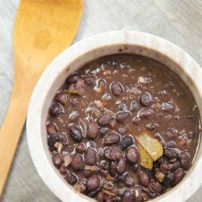 15-Minute Cuban Black Beans