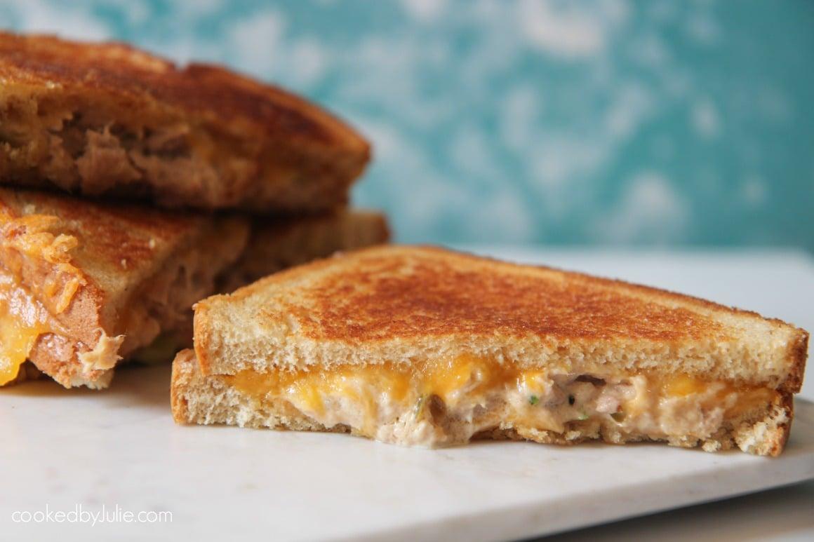 Buttery Tuna Melt Sandwich