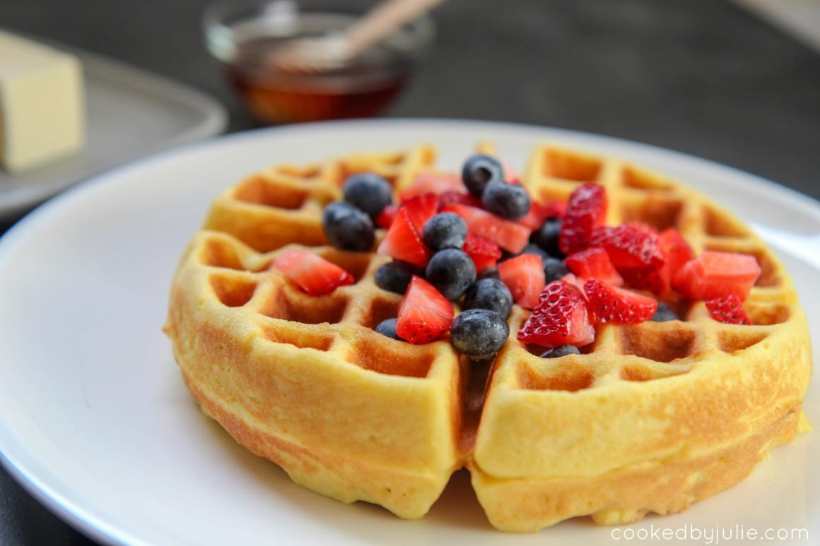 Low Carb Belgian Waffles