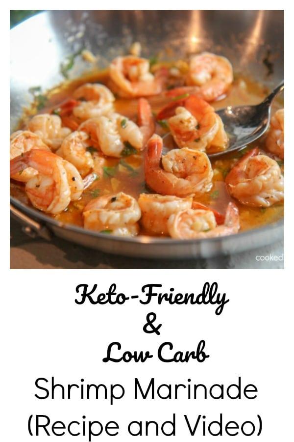 marinated juicy shrimp