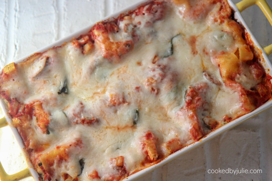 vegetable cheesy lasagna