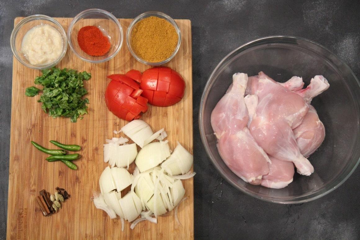 chicken curry ingredients