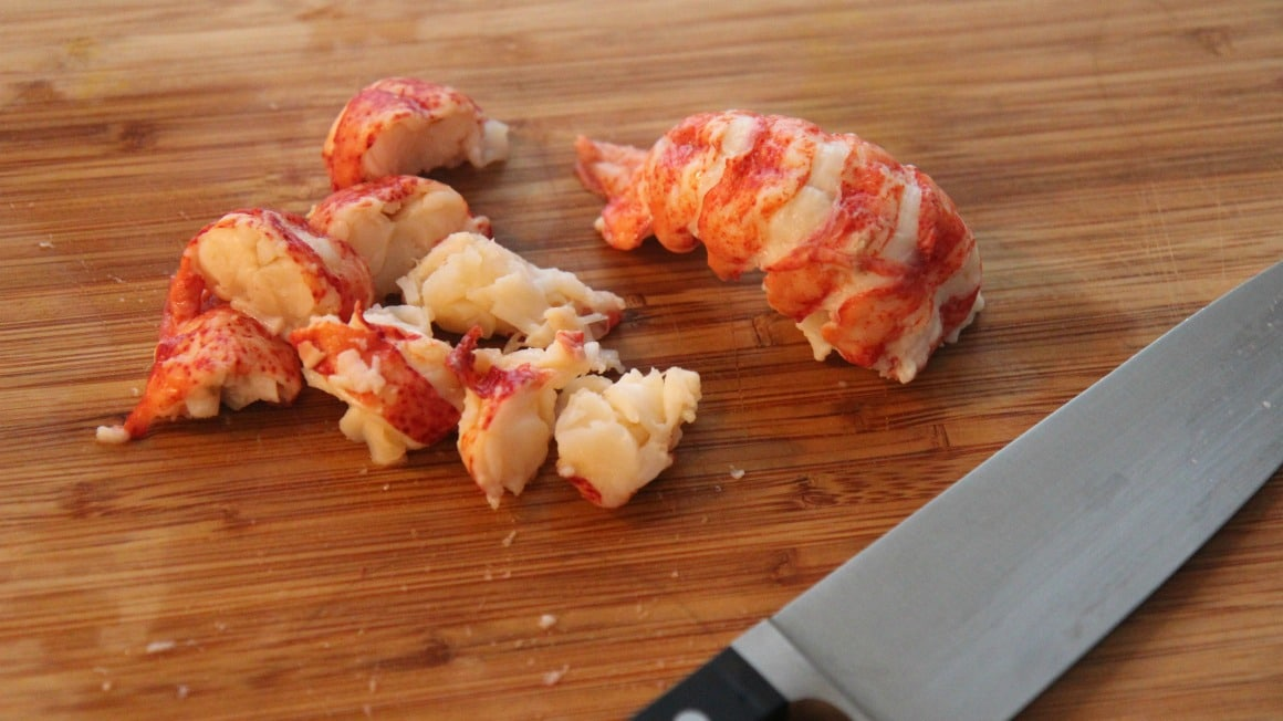 real lobster tail meat.