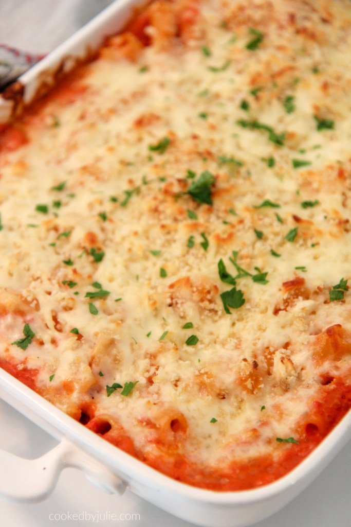 5 cheese baked ziti recipe