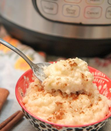spoonful of arroz con leche