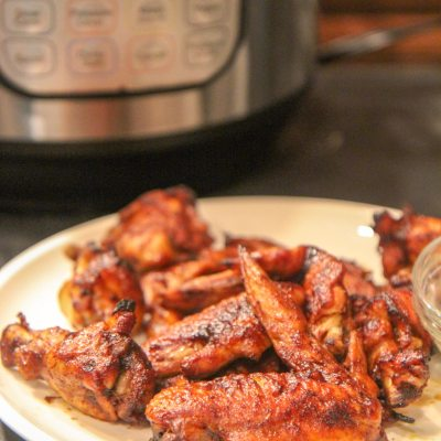chicken wings made in the instant pot
