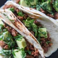 Cajun Beef Tacos
