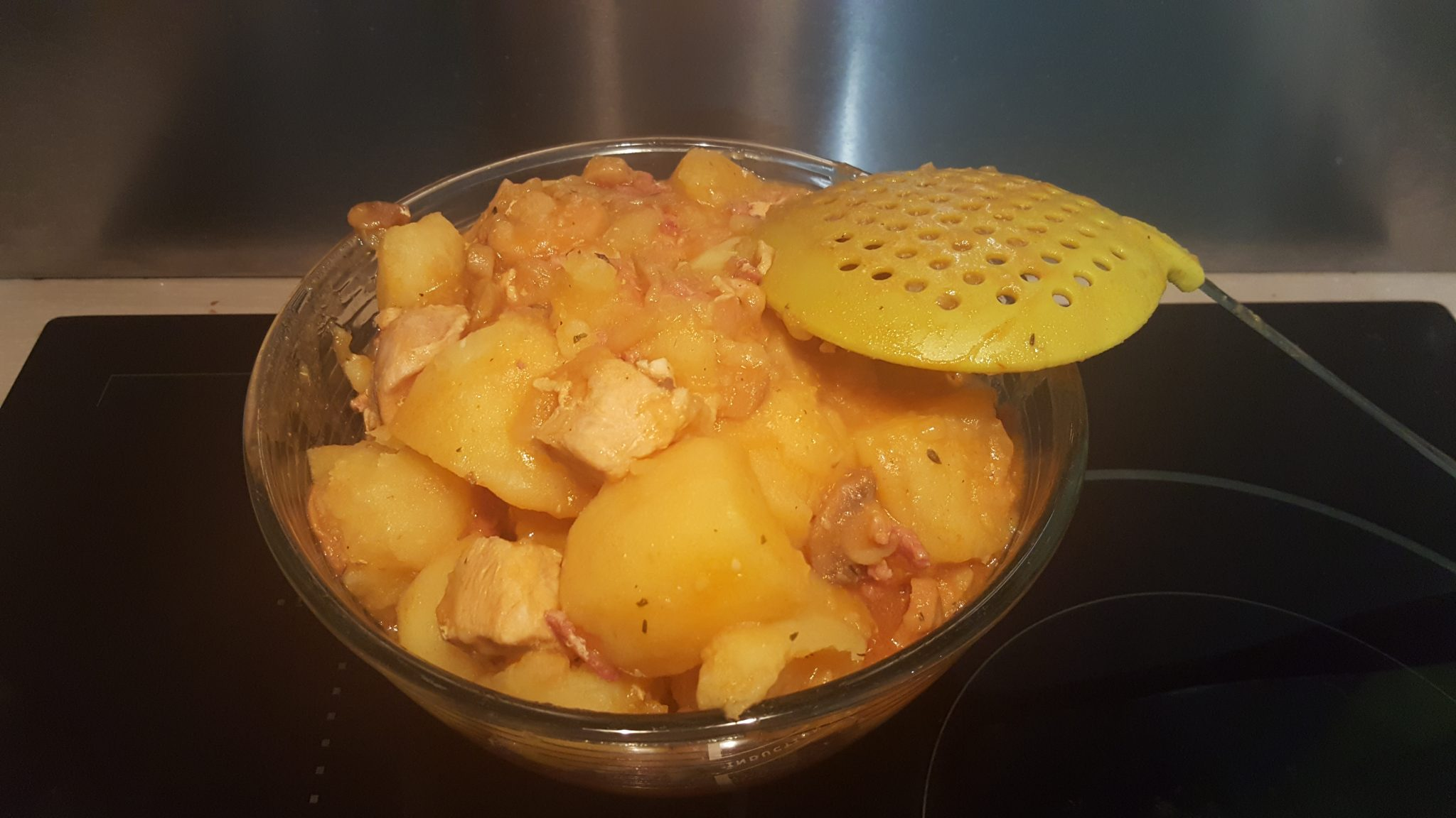 blancs de poulet aux pommes de terre au multicuiseur moulinex