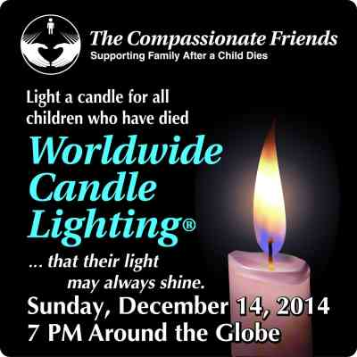 Compassionate Friends Worldwide Candlelighting 2014