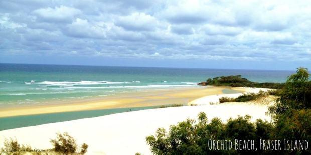 Orchid Beach, Fraser Island