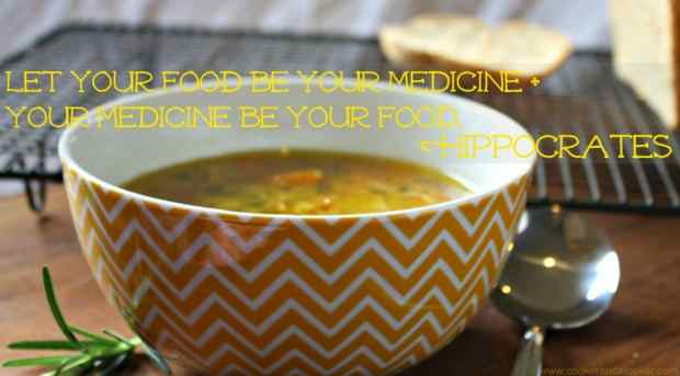 Let your food be your medicine and your medicine be your food Hippocrates