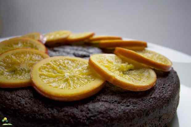 flourless jaffa cake copy