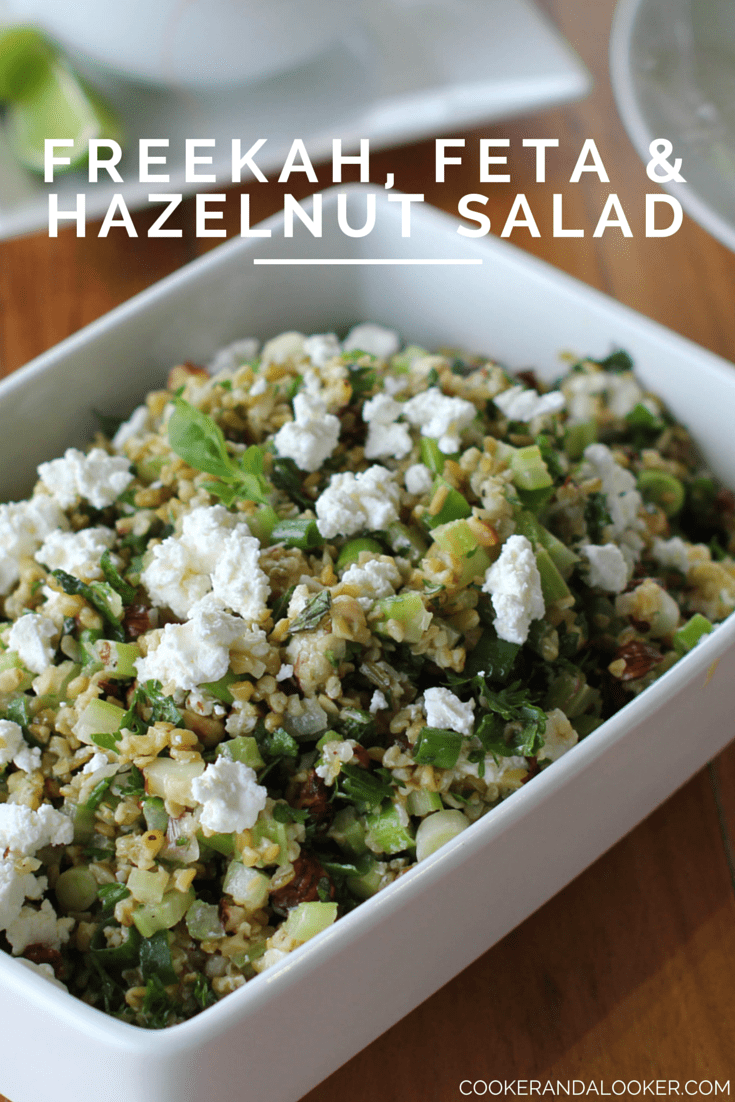 FREEKAH, FETTA & HAZELNUT SALAD
