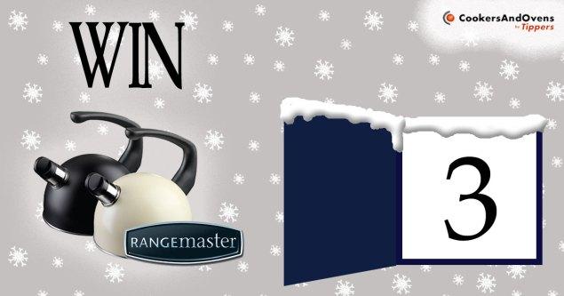 Advent Calendar Day 3: Win a Rangemaster Kettle