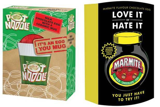 Marmite and Pot Noodle Easter Eggs announced