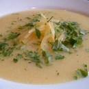Swede and potato soup