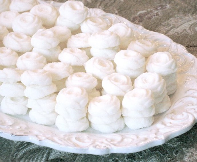 Butter-y Cream Cheese Mints Recipe