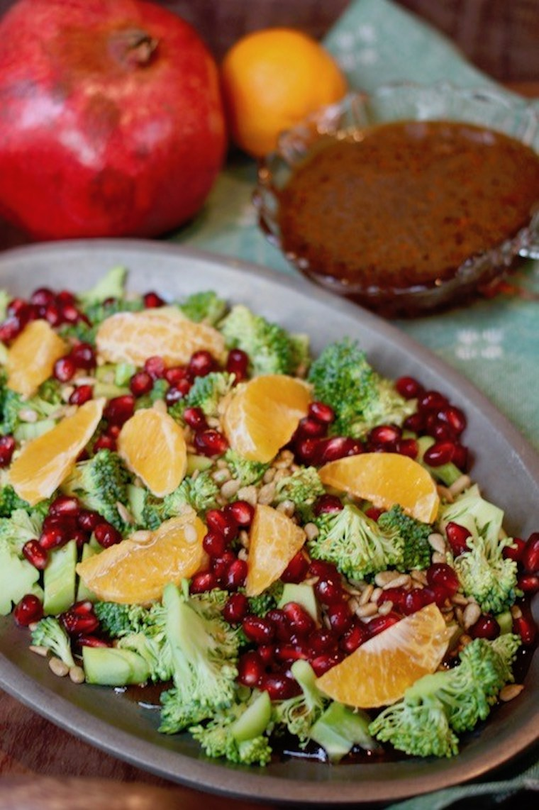 christmas broccoli salad
