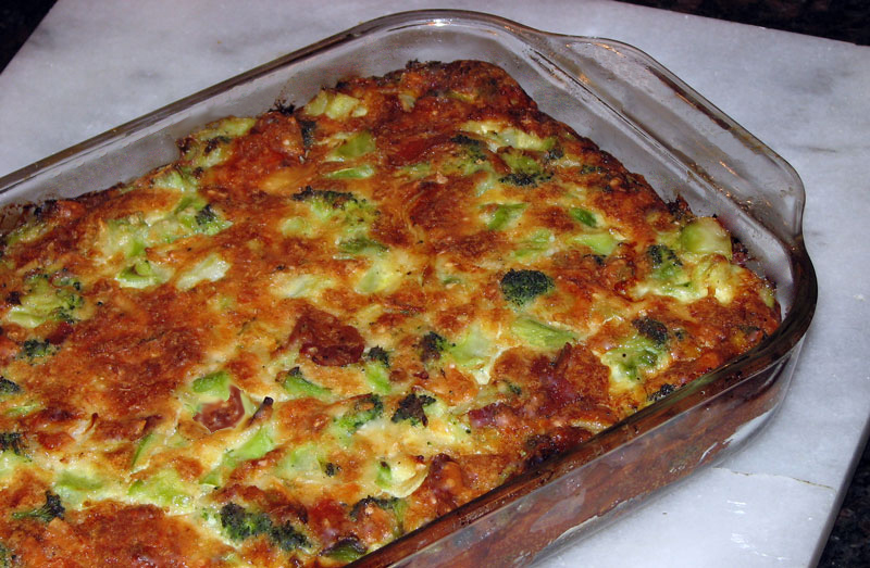 crustless broccoli quiche low carb and still delicious cookhacker. Black Bedroom Furniture Sets. Home Design Ideas