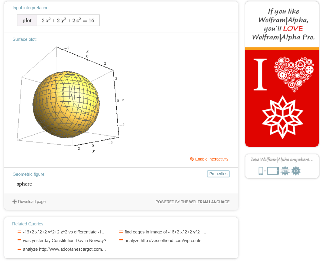 Wolfram research cook health alliance sphere graph baditri Images