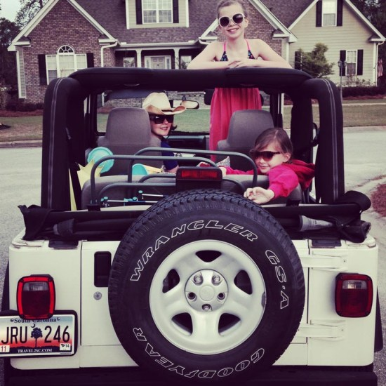 family Jeep pic
