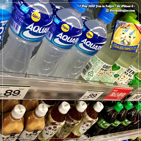 1-day-1000-yen-japan-challenge-family-mart-coke-life-aquarius-sport-iphone-6-น้ำอควาเรียส