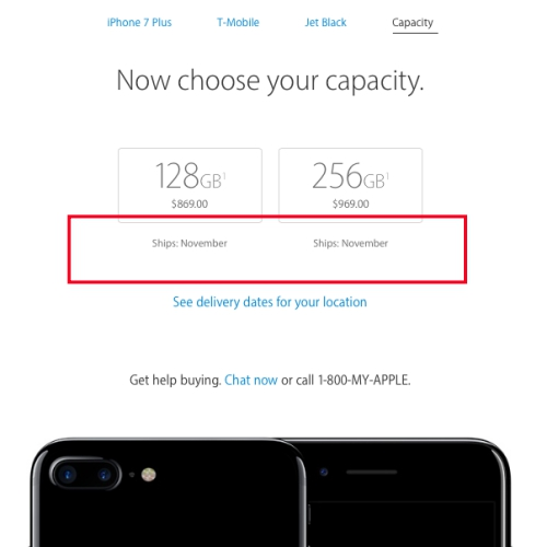 iphone-7-plus-jet-black-out-of-stock-preorder-how-to-review-usa-apple-store-pickup-ship-nov-2016-thai