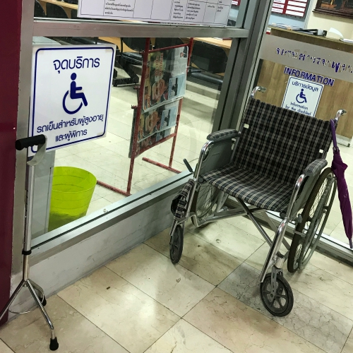 police-station-thailand-wheelchair-free-service-disable-parking-night-credit-card-hack