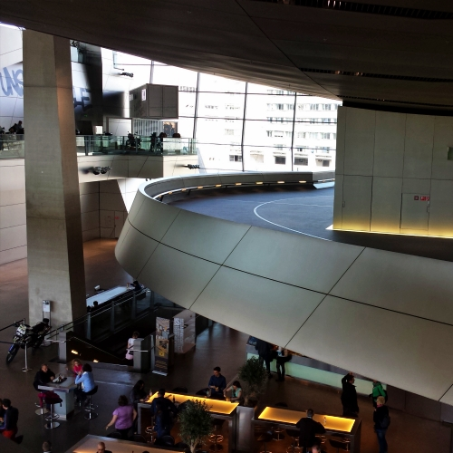 bmw-welt-museum-review-munich-germany-electric-car-bigbike-scooter-free-test-drive-runway