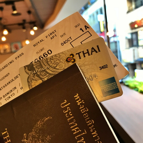 tg-thai-airways-first-class-review-747-tokyo-japan-blogger-sponsor-seat-amex-rop-passport-boarding-pass