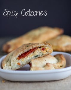 Spicy Calzones