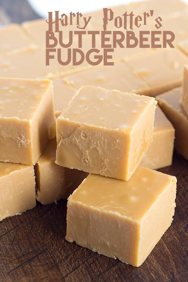 Harry Potter's Butterbeer Fudge