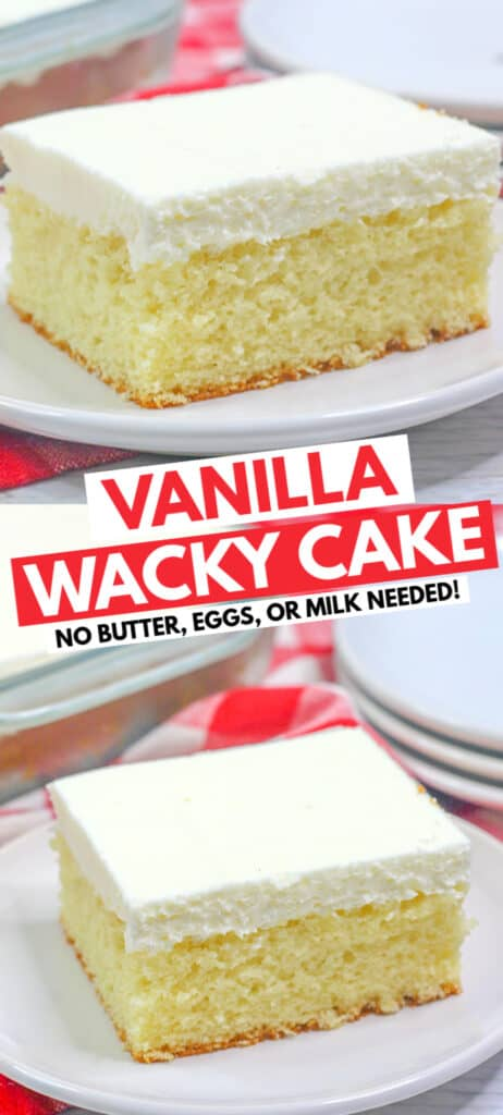 two photos for a pinterest collage with the recipe name in text