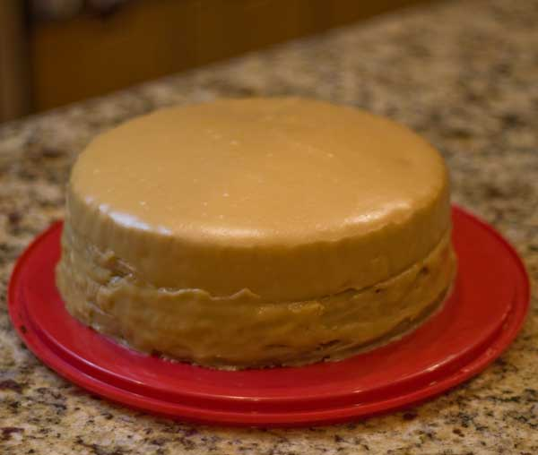 Quick And Easy Caramel Cake